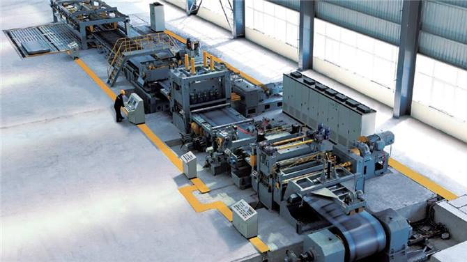 Yawei Hot rolled move shear line