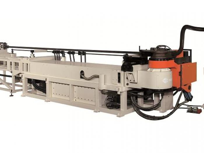 Soco's Tube Bender with NC Control and Hydraulic Tube bending Capacity OD 114.3 mm